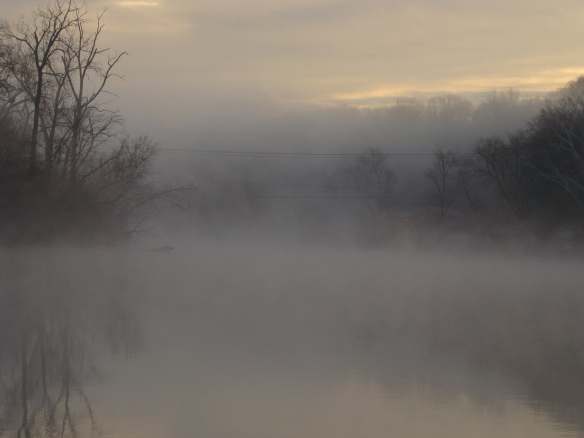 Fog On The River 12/12